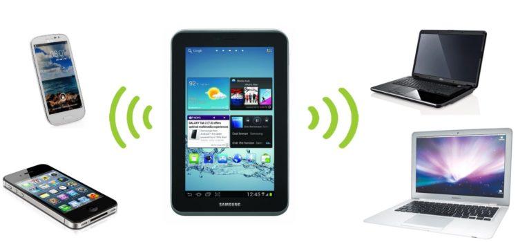 Как раздавать интернет со смартфона или планшета Android на другие устройства.