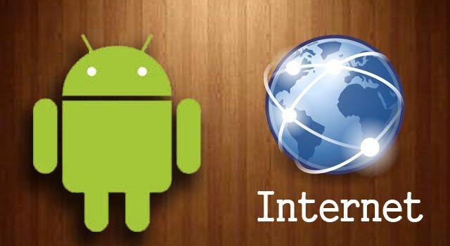 Как настроить мобильный интернет на смартфоне либо планшете Android.