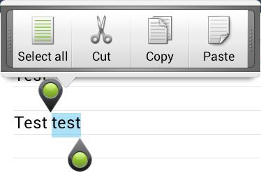 как копировать и вставлять текст в телефоне или планшете под управлением Android